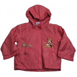manteau disney minnie fuchsia (6 à 23 mois)