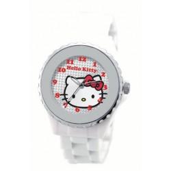 montre analogique hello kitty sport diamant blanc