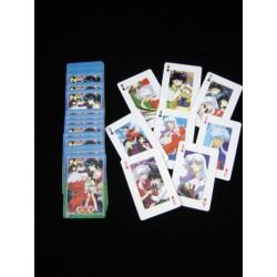 jeux de 54 cartes inuyasha