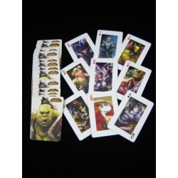 jeux de 54 cartes world of warcraft