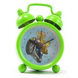 mini réveil simpsons homer et bart sur la moto