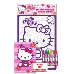 cahier d'activitÉ hello kitty mon 1er puzzle