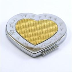 miroir de poche coeur kawai