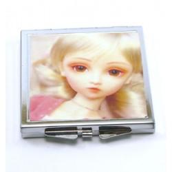 miroir de poche doll kawai