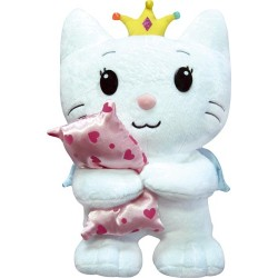 peluche de 35 cm d'angel cat sugar avec son oreiller