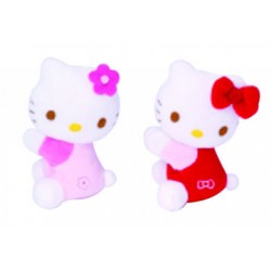 peluche hello kitty magnet rose