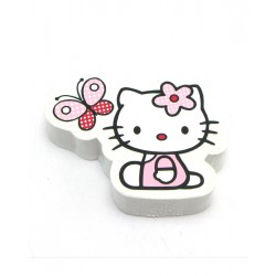 gomme hello kitty butterfly