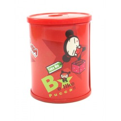taille-crayon 2 trous pucca d.dream rouge