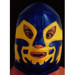 masque de catch adulte bleu