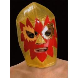 masque de catch enfants rey mysterio jaune