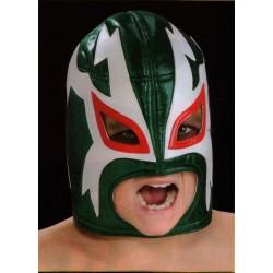 masque de catch enfants rey mysterio vert