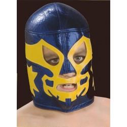 masque de catch enfants rey mysterio bleu