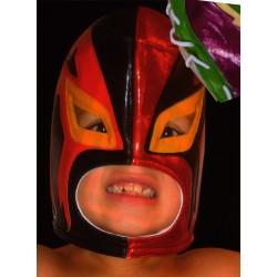 masques de catch enfants rey mysterio rouge et noir