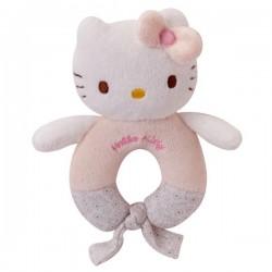 anneau hochet baby hello kitty