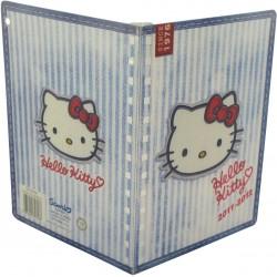 agenda de textes hello kitty marin bleu
