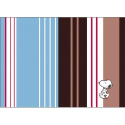 24 set de table papier best of snoopy série flower strip