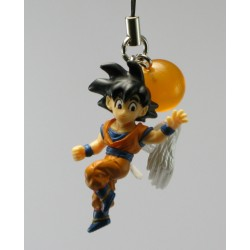 dragon ball z phonestrap part 4 : sangoku avec ailes d'ange