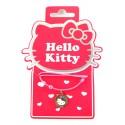 collier hello kitty flowers
