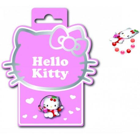 bague hello kitty mini perles cherry