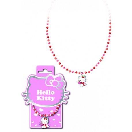 collier hello kitty mini perles cherry