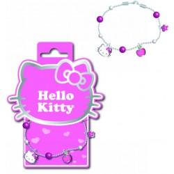 bracelet hello kitty métal émaillé 80's