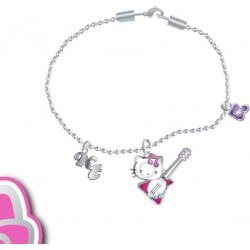 bracelet hello kitty rock'n roll