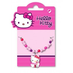collier hello kitty lolly perles