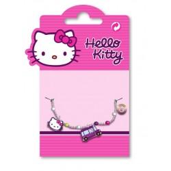 bracelet métal émaillé hello kitty funky bus