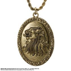 pendentif et collier cersei lannister le trône de fer