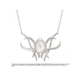 pendentif broche galadriel argent massif - bilbo the hobbit
