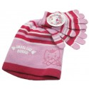 bonnet et gants angel cat sugar rose