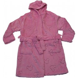 peignoir enfant disney minnie coral rose (8 à 14 ans)