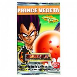 booster dragon ball série scg 2 prince végéta