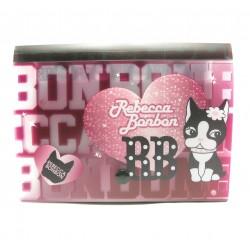 mini trieur rebecca bonbon coeur rose