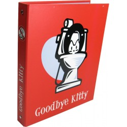 classeur goodbye kitty a4 rouge