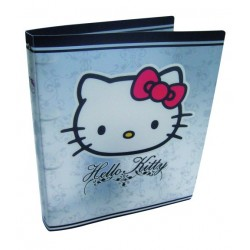 classeur hello kitty couture a4 polypro blanc