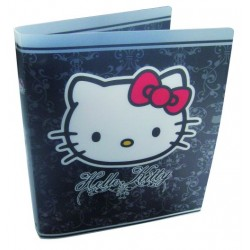 classeur hello kitty couture a4 polypro noir