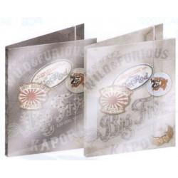 chemise kaporal patch 3 rabats polypro gris foncé