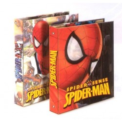 classeur spiderman sense a4 : les méchants