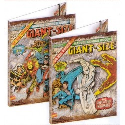 chemise marvel giant 3 rabats : les héros