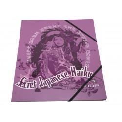 chemise ddp haiku 3 rabats violet