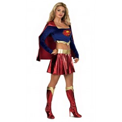 costume adulte supergirl taille m