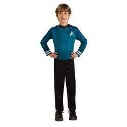 costume enfant star trek spock taille 8/10 ans
