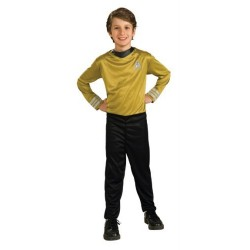 costume enfant star trek captain kirk taille 8/10 ans