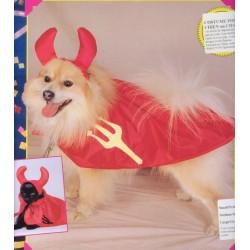 costume pour chiens: diable taille l
