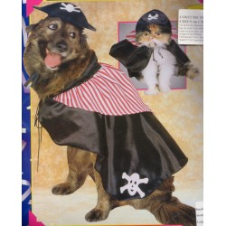 costume pour chiens: pirate taille s