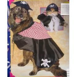 costume pour chiens: pirate taille l