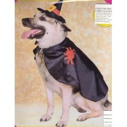 costume pour chiens:sorciere taille m
