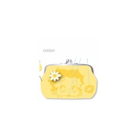 porte monnaie betty boop jaune