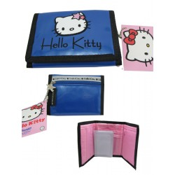 portefeuille hello kitty retro glammy bleu